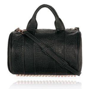 Alexander Wang Rocco Duffle bag black/rose gold