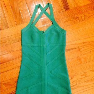 Gorgeous green Bebe dress