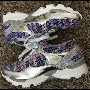 Jeffrey Campbell 1 inch Platform Shoe Sneaker 8.5