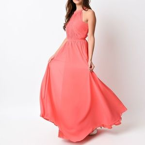 Coral or peach in both m &L