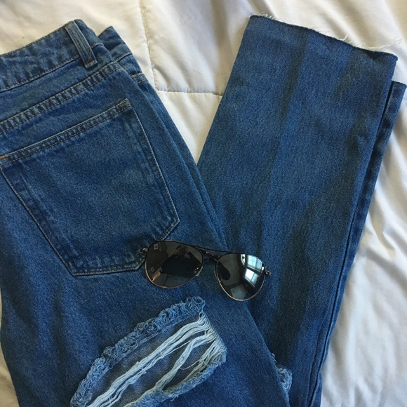 09d8e0bca063 Boohoo Jeans   Petite Bethany Mom   Poshmark
