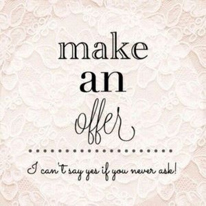 Use the button to make an offer!