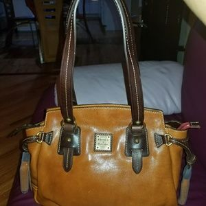 Dooney & Bourke Toledo leather small winged tote