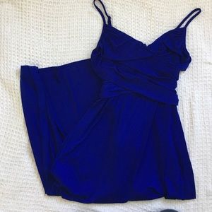 Royal Blue Jennifer Lopez Maxi Dress