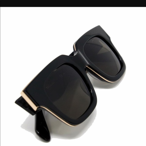 07a7a3354ecb Celine Accessories - Celine Sunglasses 41097 Black Sunglasses