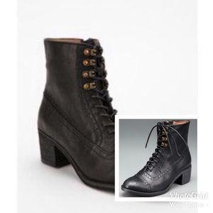 Jeffrey Campbell Mattie Laceup Brogue Boots
