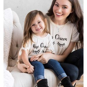 Mommy and me nap queen shirts