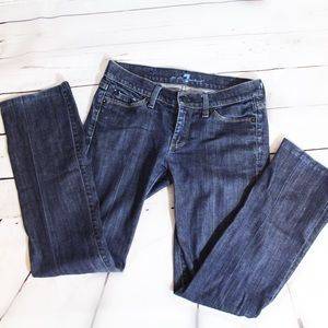 7 For All Mankind Size 26 Straight Leg Jeans