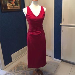 Nicole Miller red date night dress