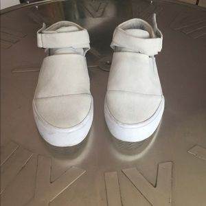ASOS suede tennis shoe.