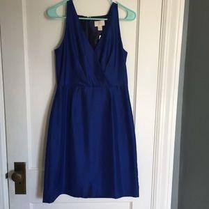 Coral Blue Silk Loft Dress