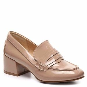 [Chinese Laundry] Nude Penny Loafer Pumps