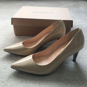 Cole Haan nude heels