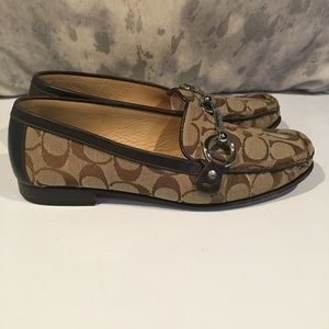 ❤️❤️BEAUTIFUL BROWN COACH LOAFERS❤️❤️