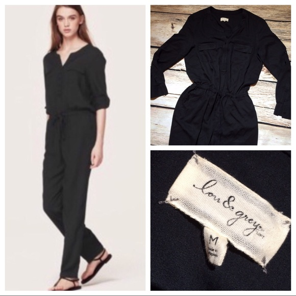 e47ede7f4e Lou   Grey Pants - Lou   Grey black long sleeve jumpsuit M