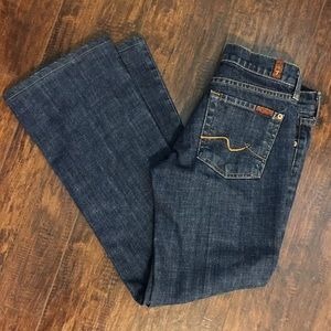 7 For All Mankind Jeans Bootcut Size 25 Boot Cut