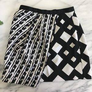 Target x Peter Pilotto Black and White Skirt