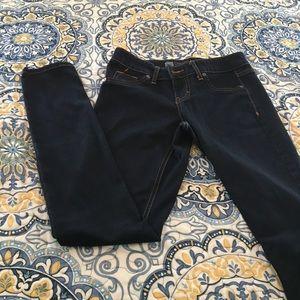 Jean leggings size 2 never worn