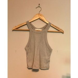 Urban Outfitters Stripped Crop Tank