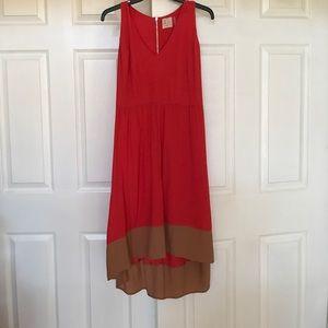 Anthropologie  hi-low dress