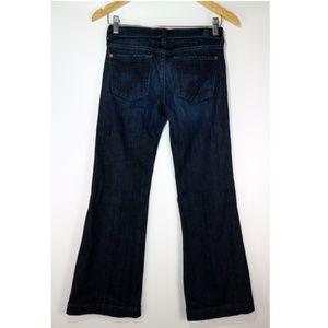 7 For All Mankind Dojo Jeans Dark Wash