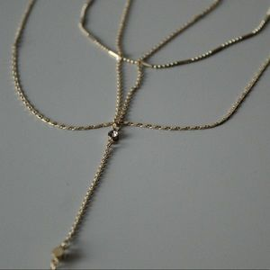 Charlotte Russe Multi Layered Long Necklace