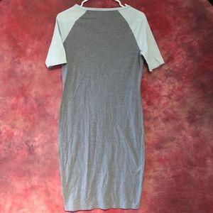 LuLaRoe Dresses - LuLaRoe Julia Dress Blue Midi