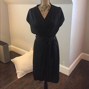 DVF Silk Little Black Dress