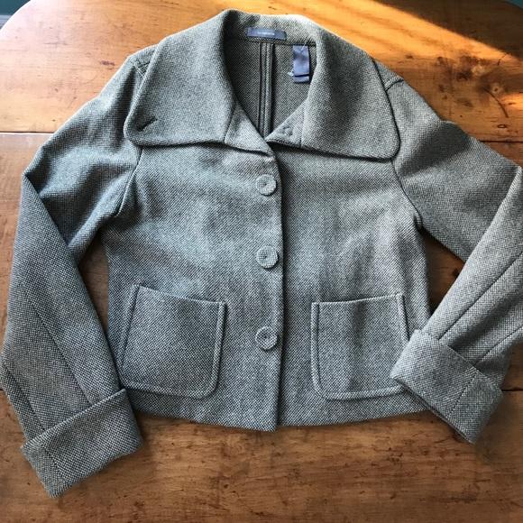 f20749e01372b8 82% off Liz Claiborne Jackets   Coats Cropped Wool Jacket