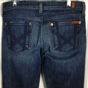 7 For All Mankind Jeans Womens Sz 26
