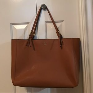 Tory Burch York Buckle Large Tote Purse