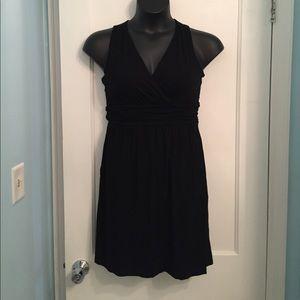 Cynthia Rowley Black Racerback Dress