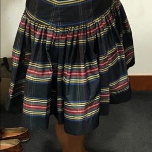 J. Crew Skirts - NWT J.Crew Taffeta Skirt in Stewart Plaid