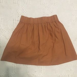 J Crew cinched skirt