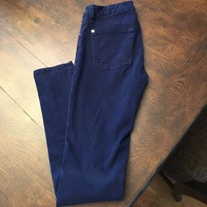 7 for all mankind blue denim The skinny