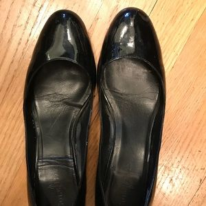 Cole Haan/Nike Air patent leather wedge size 8