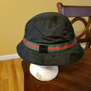 Gucci Black with the Gucci green and Red Signature