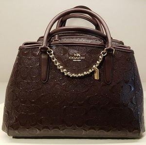 NWT Coach Satchel Shoulder Handbag