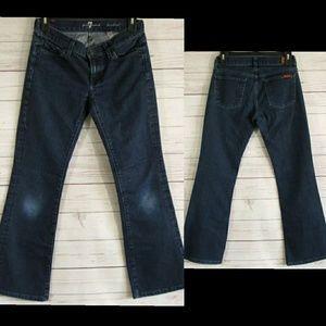 7FAM lexie petite boot cut jeans
