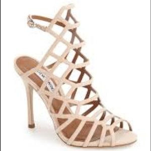 Steve Madden Shoes - Steve Madden SLITHUR BLUSH SUEDE SANDAL