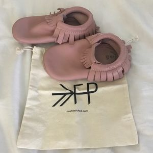 Other - Freshly Picked Moccasins. Blush pink. Size 9