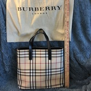 Authentic Burberry Nova Check Tote