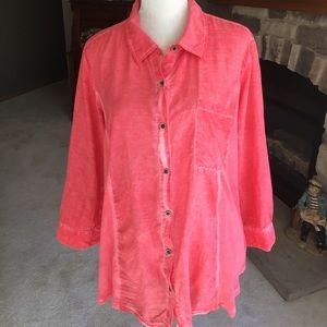 Style & Co 3/4 sleeve blouse