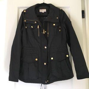 Michael Kors Black Utility Jacket