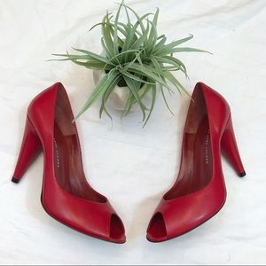 Marc by Marc Jacobs Red Heels