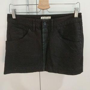 Diesel Black Mini Skirt