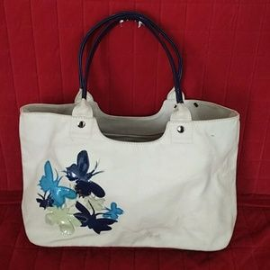 NOAH butterfly tote bag