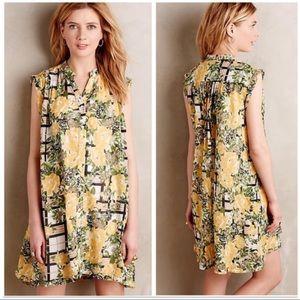 NWT Anthropologie Arboretum Shirt Dress