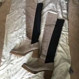 JC x Free People over the knee boots