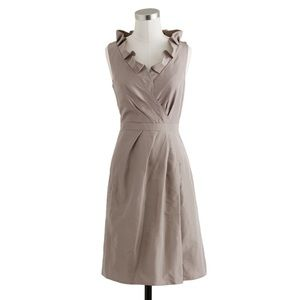 JCrew silver Petite Bridesmaid Dress